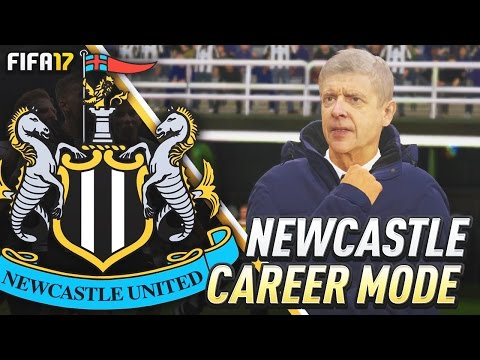 ARSENE WENGER OUT!?!? FIFA 17 Newcastle United Career Mode #27