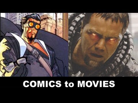 Man of Steel 2013 - Michael Shannon is General Zod!  From Comics to Trailer to Movie!