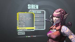 Borderlands 2 - Maya the Siren Elven Eliminator head (Tiny Tina's Assault on Dragon Keep)
