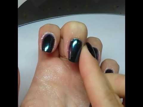 Втирка для ногтей северное сияние как наносить