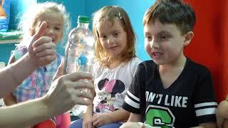 Влог. Шоу программа для детей. День рождения Андрюши в 6 лет./Научное шоу.