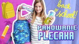 Back to school ❤ Pakowanie plecaka 2019