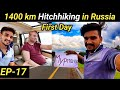 My Longest Hitchhiking in Russia / Nearly 1400 km / St Petersburg to Murmansk / Travel with Praj