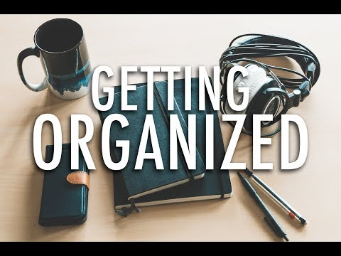 Time To Organize | My Studio Organization - #DunnaVlog 16