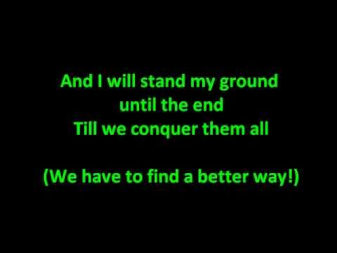 Escape The Fate  This War Is Ours HQ with Lyrics