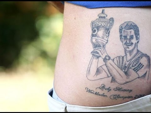 Worst Tattoo Ever? - Andy Murray Wimbledon Ink