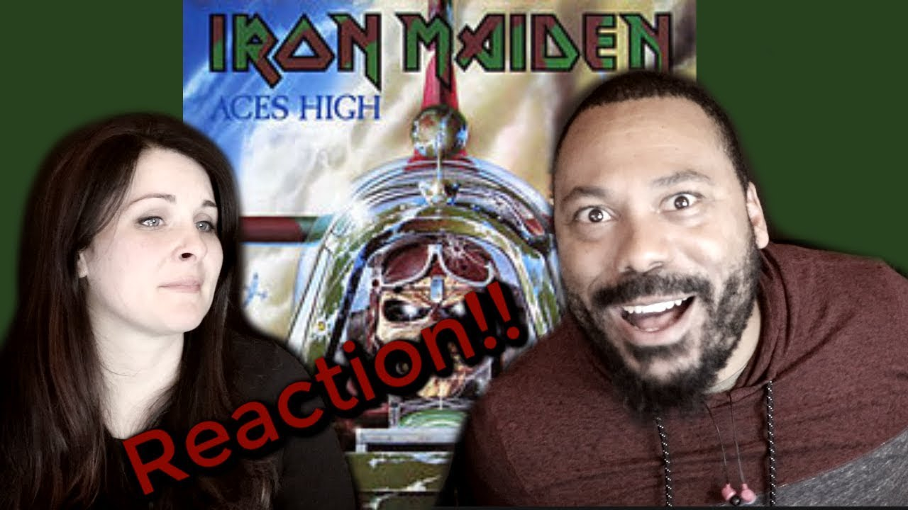 Download IRON MAIDEN Aces High Reaction!!