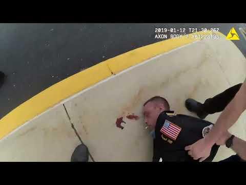 Police body cam captures violent arrest of belligerent man in Vineland