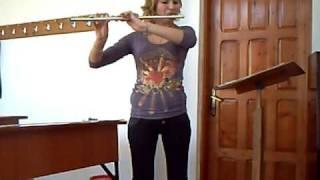 Bach BWV 1034 Adagio ma non tanto -flute