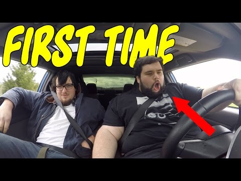 Automatic Owner Drives MANUAL for the First Time