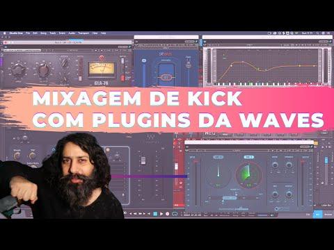 Mais Punch e definição para o Kick usando Waves [Download Mix-Template]