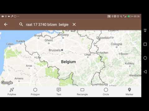 Using Toolmaps to highlight a map in Belgium