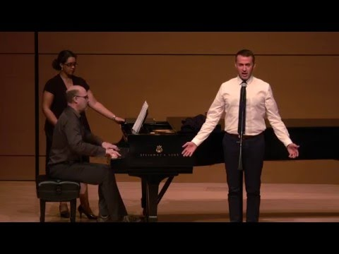 """Andrew Lippa  In Concert """"You Are Here"""" From I Am Harvey Milk @TexasStateUniversity 2015"""