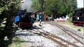 Train touristique St Lieux les Lavaur Giroussens ( Tarn )