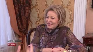 Большое интервью с председателем Совета Федерации Валентиной Матвиенко о выставке  «Город мастеров»