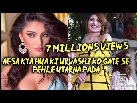 Live Urvashi Rautela || in FBB Hatibagan...