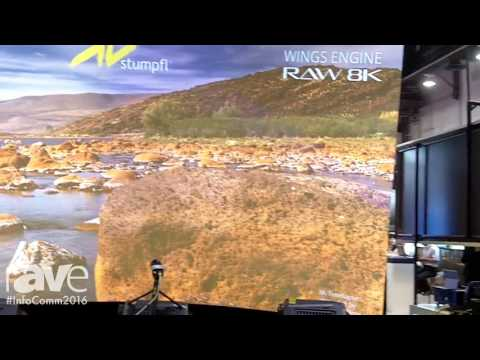InfoComm 2016: AV Stumpfl Debuts Wings Engine RAW 8K