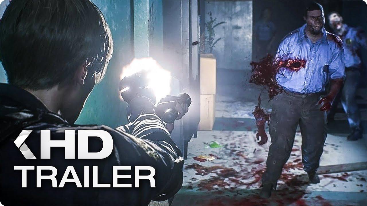 RESIDENT EVIL 2 REMAKE Extended Gameplay Demo (E3 2018)