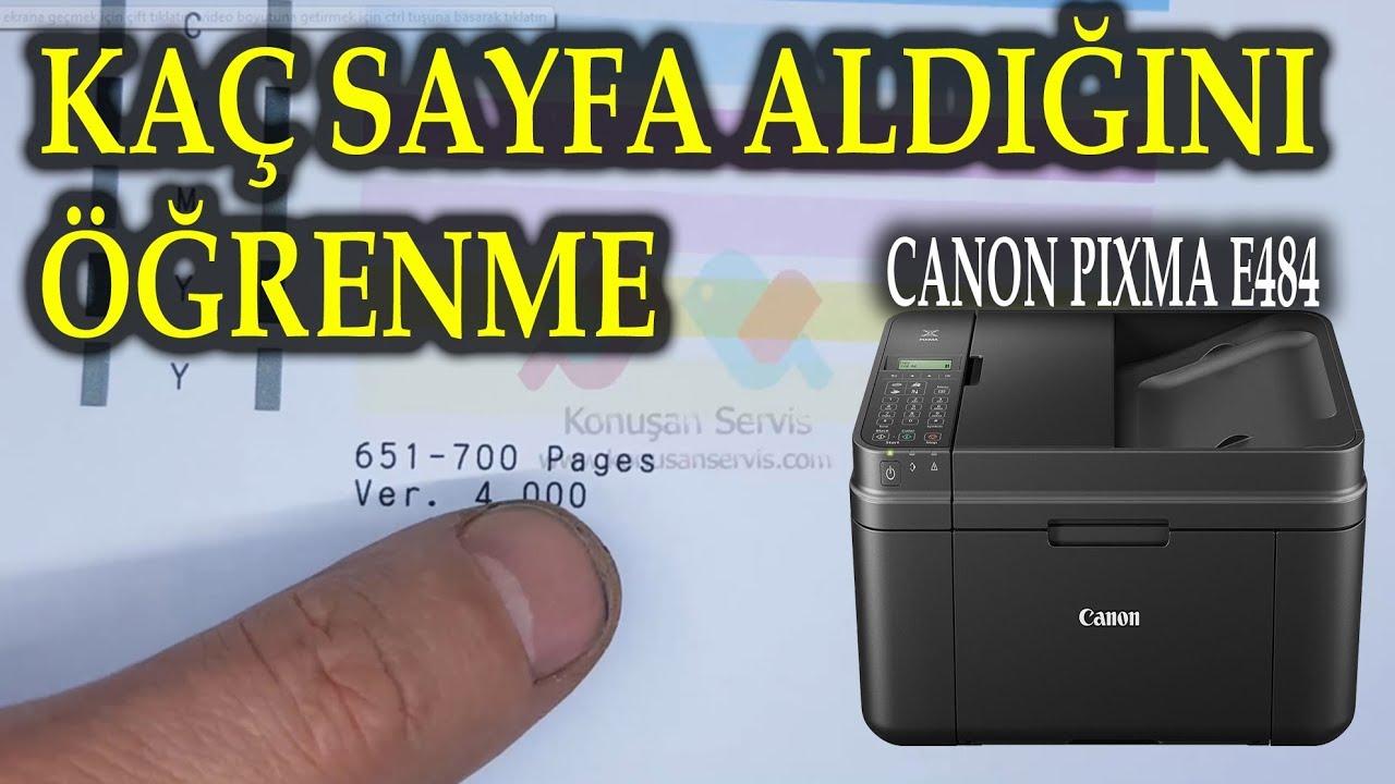 Canon Pixma e484 Yazıcı Kutu Açılımı (Fotoğraf Basabilme Özellikli)