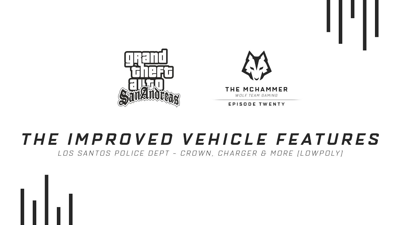 LSPD Carpack LP   Crown, Charger & More   Improved Vehicle Features