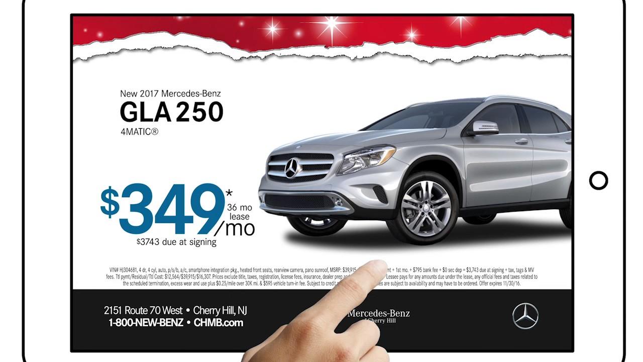 Mercedes Benz Of Cherry Hill   November 2016 Black Friday Specials And Deals