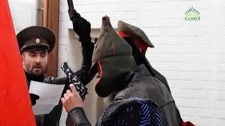 Открытый урок для воспитанников состоялся в воскресной школе Новоспасского монастыря Москвы