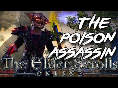 ESO Stamina Nightblade PVP Build - THE POISON ASSASSIN (Elder Scrolls Online Stamblade)