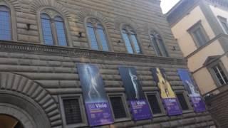 "Bill viola - ""electronic renaissance"" palazzo strozzi florence 2017"