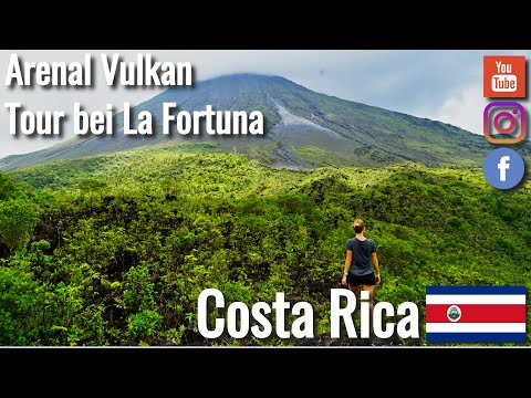 99dc61154b1 Hike on the Arenal Volcano in La Fortuna Costa Rica - Travelgrapher  Worldtrip VLOG   62 2019
