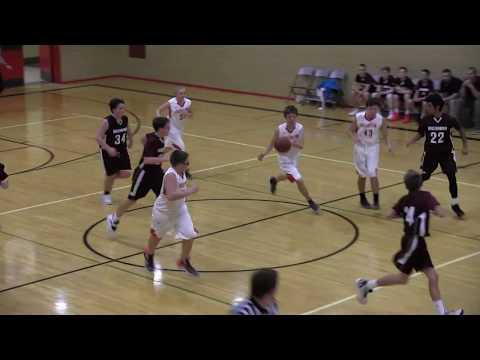 Hoisington Middle School Boys C-Team vs Hillsboro 12/13/18