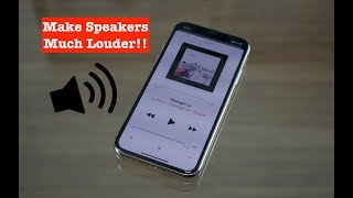 How to Make iPhone Speakers (Much) Louder!