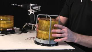 Chris takes apart a Whelen L21 and shows us High vs Low Dome