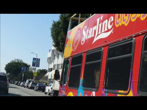 Big Los Angeles Driving Tour. No Music. Very Little Commentary