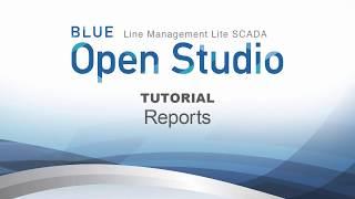 Video: BLUE Open Studio Tutorial #17: Reports