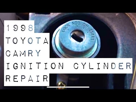 2002 toyota tacoma ignition switch replacement