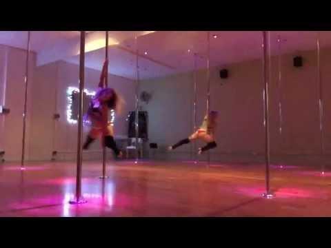 Amy Hazel - Give Me Love - Ed Sheeran - lyrical pole dance 26/1/15