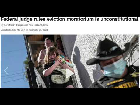 Texas Federal Judge Says Eviction Moratorium is Unconstitutional