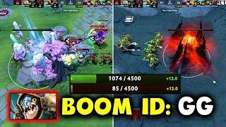 WORST GG CALL IN DOTA HISTORY!!! - BOOM ID vs TEAM TEAM - BUCHAREST MINOR DOTA 2