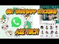 Get whatsapp stickers easily on any android device [Hindi]