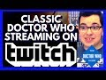 How to watch classic Doctor Who episodes online free this summer! Full episodes streaming on Twitch!