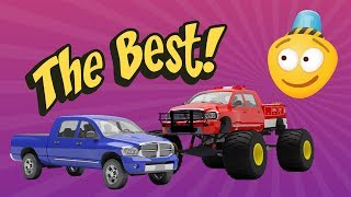 Tuning Pickup Truck into a Fire Truck | Tuning Cars for Kids | Monster Truck Kids Videos | Car City