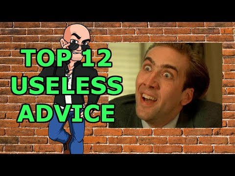 TOP 12 most USELESS ADVICE by motivational speakers