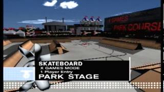 Let's Play ESPN X Games Skateboarding: The X Games