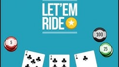 Bovada - Let 'Em Ride - HIGH Limit $25/ante | Is Let 'Em Ride Unbeatable?