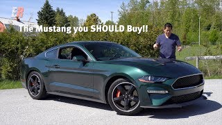 THE MUSTANG YOU SHOULD BUY! - Ford Mustang Bullitt Review