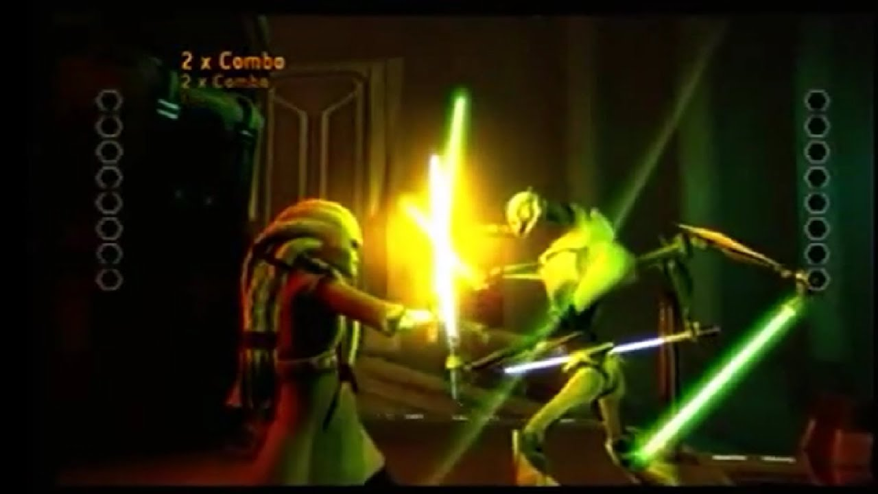 star wars kit fisto vs general grievous - youtube