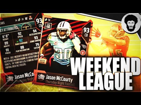 WEEKEND LEAGUE AND NFL REACTIONS Madden 18