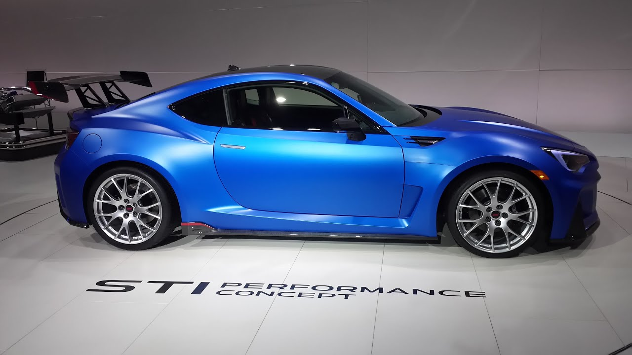2016 Subaru BRZ STI Performance Concept // NYIAS 2015 - YouTube