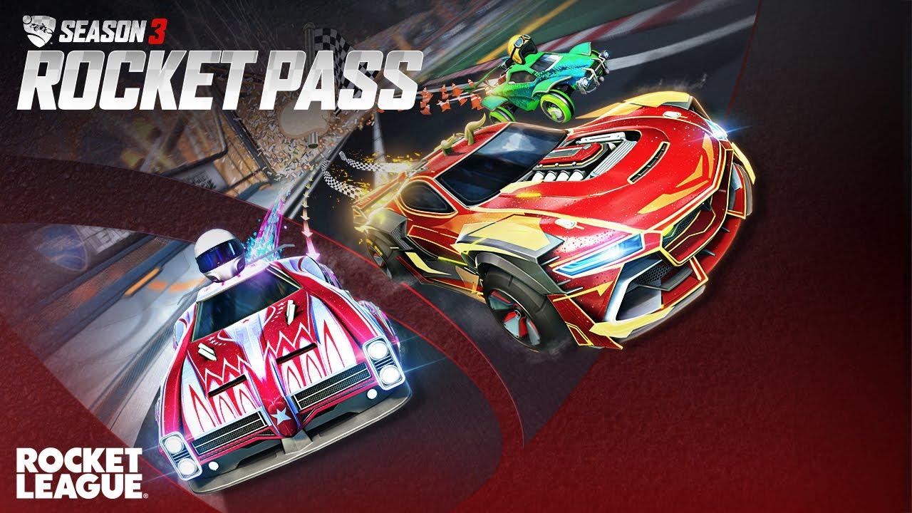 Rocket League® - Season 3 Rocket Pass Trailer