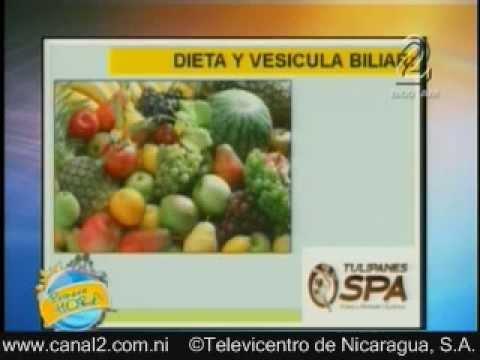 dieta para la vesicula biliar con calculos